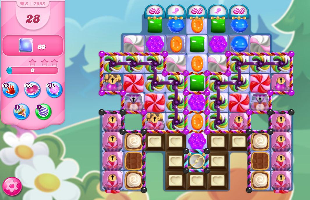 Candy Crush Saga level 7985