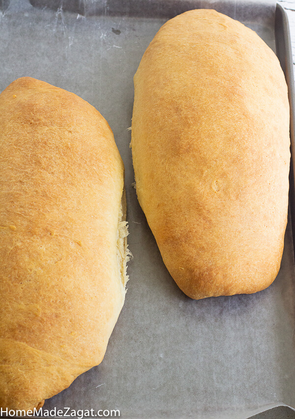 Caribbean butter bread loaves