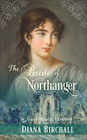 Book cover: The Bride of Northanger by Diana Birchall
