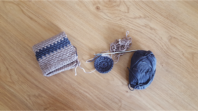 crochet scrubbies and washcloths set