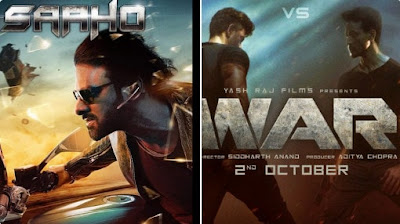 Hrithik Vs Tiger | WAR Movie Vs Saaho Movie 2019