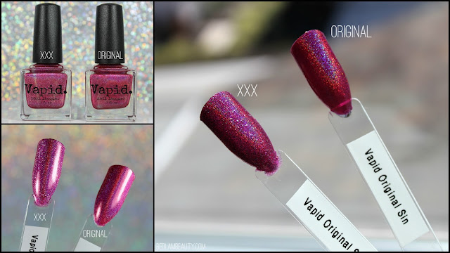 Vapid Nail Lacquer Original Sin XXX Dirty Holo
