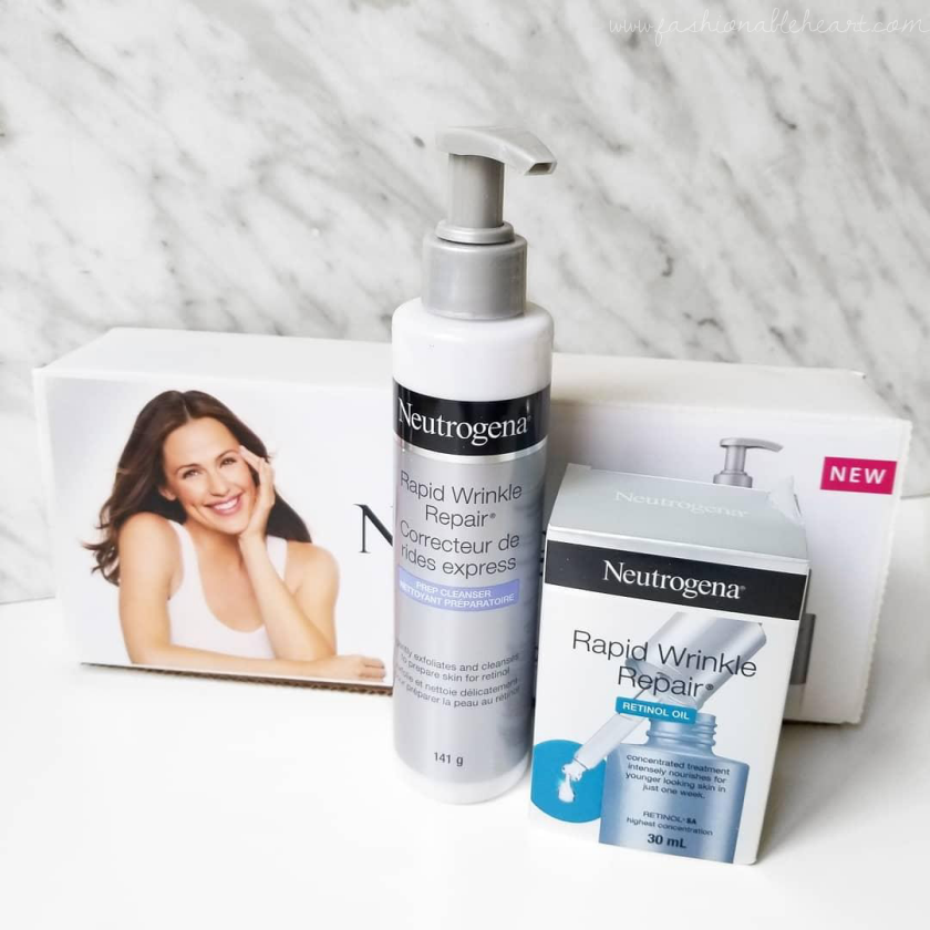 bblogger, bbloggers, bbloggersca, bbloggerca, canadian beauty bloggers, beauty blog, neutrogena, rapid wrinkle repair, deep cleanser, retinol oil, antiaging, anti-aging, skincare, routine, drugstore, review, dry skin, sensitive skin, fine lines