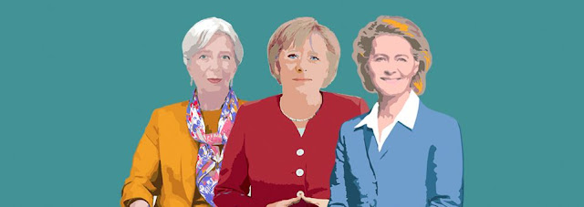 These three women have the power to make it happen: EU Commission President Ursula von der Leyen, Europe's top banker Christine Lagarde and German Chancellor Angela Merkel.