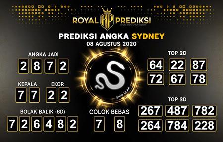 Royal Prediksi Sidney Sabtu 08 Agustus 2020