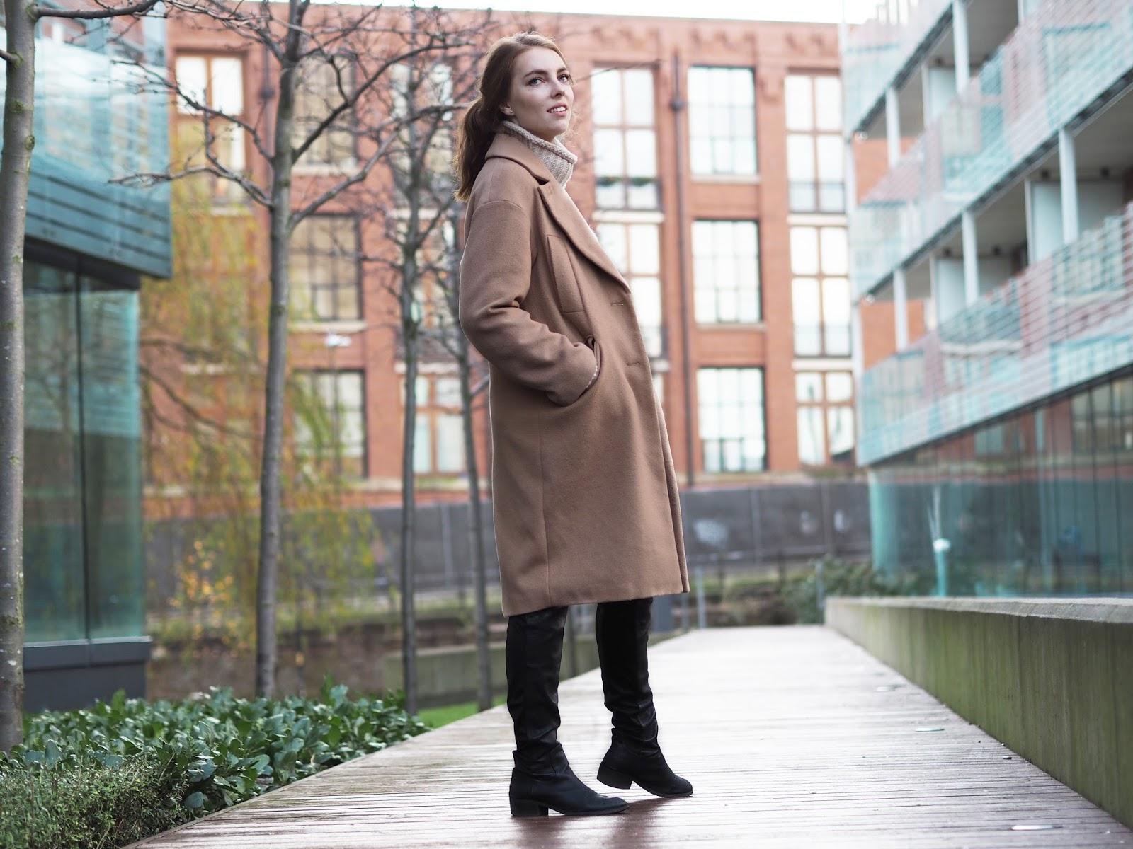 camel coat asos