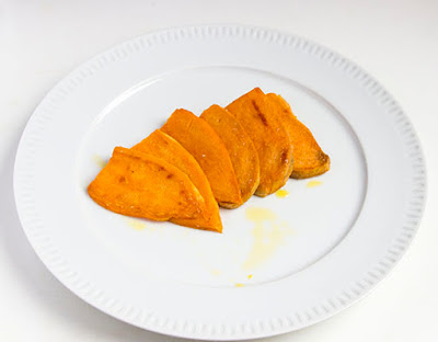 Chinese food - Fried sweet potato slices