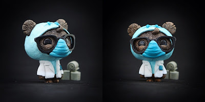 """Wear a Damn Mask!"" GeekWok Star Wars Resin Figure by UME Toys"