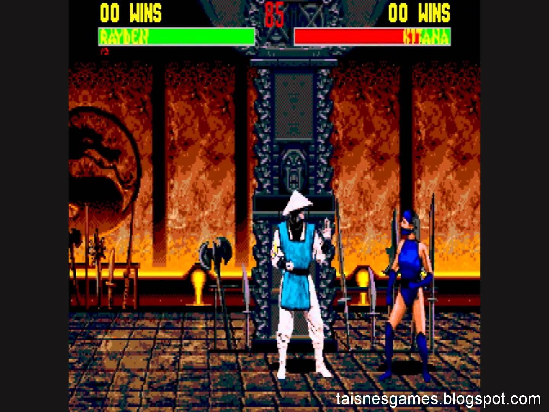 Mortal Kombat II Unlimited (Genesis) - Longplay - YouTube