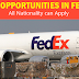 FedEx Job Opportunities 2019 in Various Location - Apply Now