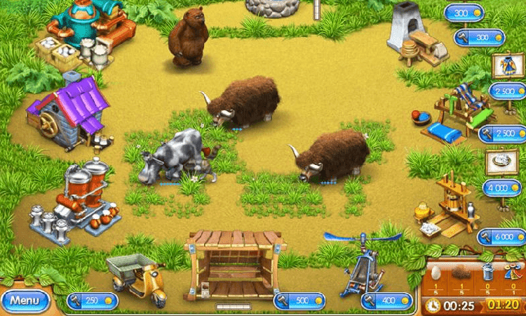 تحميل لعبة مزرعة الحيوانات Farm Frenzy 3