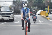Bike To Work, Atase Polri Pada KBRI Manila: Bersahabatlah Dengan Perubahan