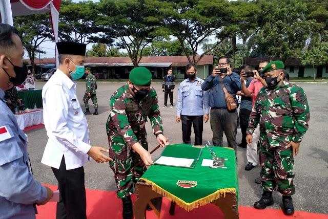 TMMD Ke-112 TA 2021 Resmi Buka Walikota H Paisal, SKM.,  MARS.,
