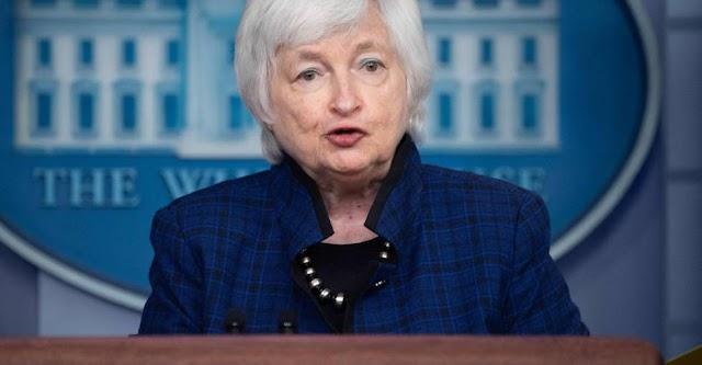 EE.UU. corre el riesgo de quedarse sin dinero en octubre: Secretaria del Tesoro
