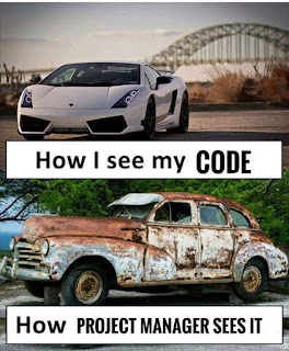 how I see my code memes