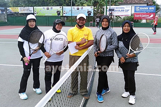 Dra. Zulaikah/Lilik Maju ke Perempat Final Kejuaraan Tenis Kajari Cup I Tahun 2020