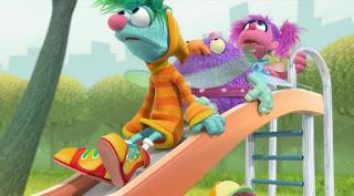 Abby's Flying Fairy School Playground Troll, Abby Cadabby Blögg Gonnigan, Sesame Street Episode 4318 Build a Better Basket season 43