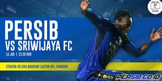 Tiket Persib vs Sriwijaya FC Belum Habis, Panpel Jual Langsung di Graha Persib