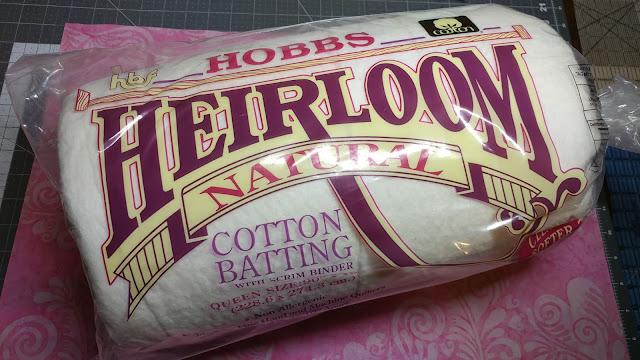 Hobbs Heirloom Natural Cotton batting