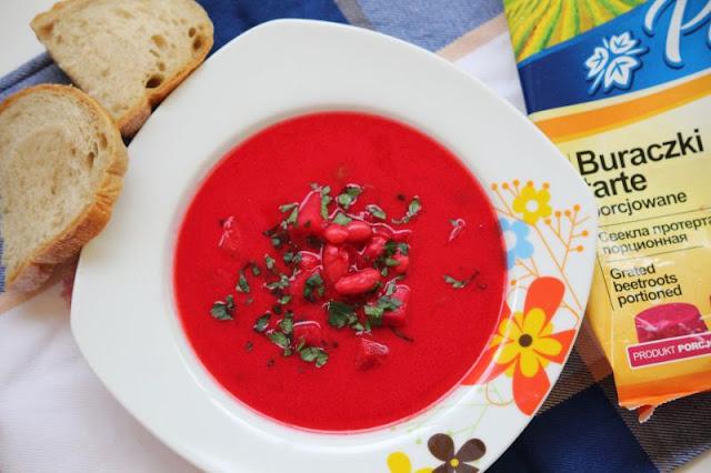 zupa, buraczki