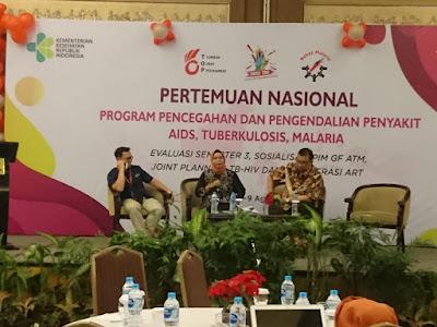 Pertemuan Nasional Program Pencegahan dan Pengendalian Penyakit Aids, Tuberkulosis, Malaria