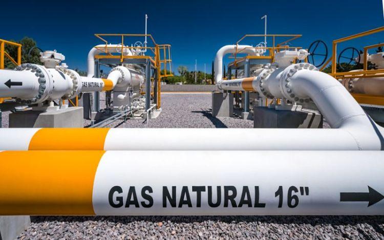 Extracción y transporte de gas natural
