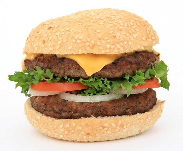 Burger HD Wallpaper