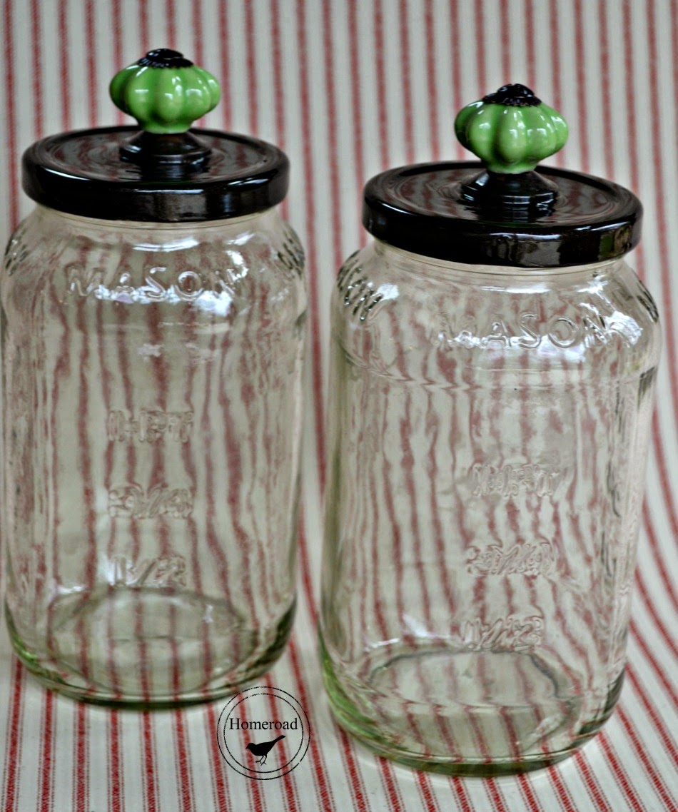 pretty pasta jars www.homeroad.net