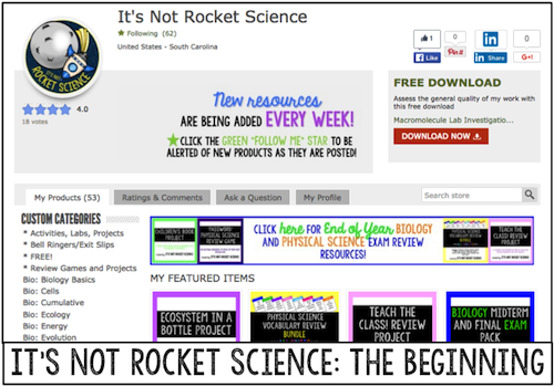 It's Not Rocket Science: The Beginning