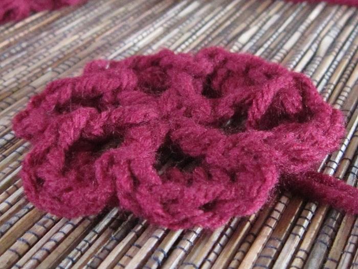 crochet, flowers, Mom's Afghan
