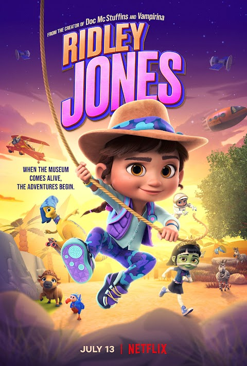 Ridley Jones (2021) Hindi Dubbed Review: What This New Animation Show Is All About