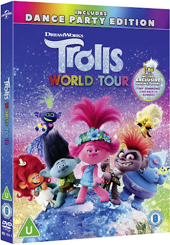 Trolls World Tour DVD giveaway UK Sent by Universal Pictures