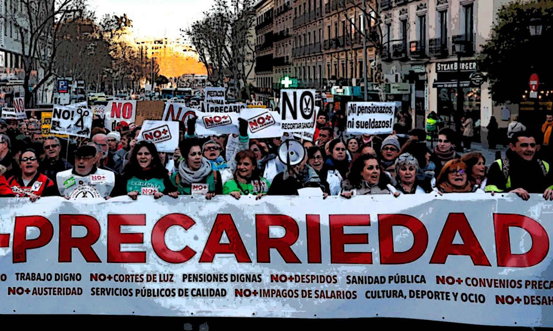 La precarización laboral - artículo de Marcelo Colussi Precariedad