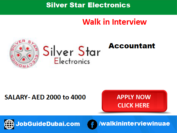 Silver Star Electronics career for Accountant job in Dubai