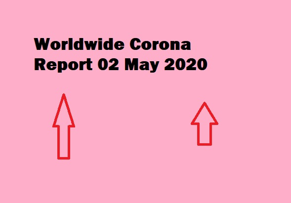 Update COVID-19) Corona Virus Report 02 May 2020