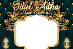 10 TEMPLETE TWIBBON IDUL ADHA 1442 H/ 2021 M KEREN