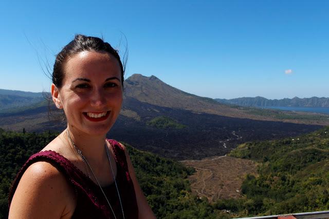 Lena en Gunung Batur