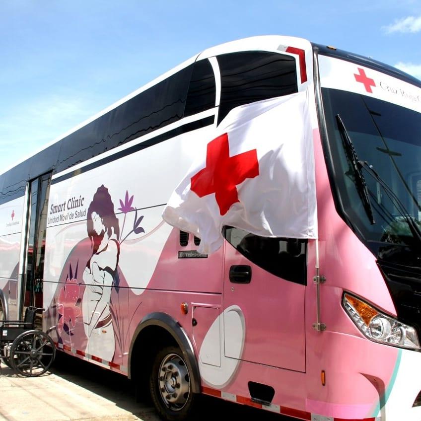 https://www.notasrosas.com/ La Cruz Roja Colombiana operará en La Guajira, la Smart Clinic Unidad Móvil de Salud -UMS-