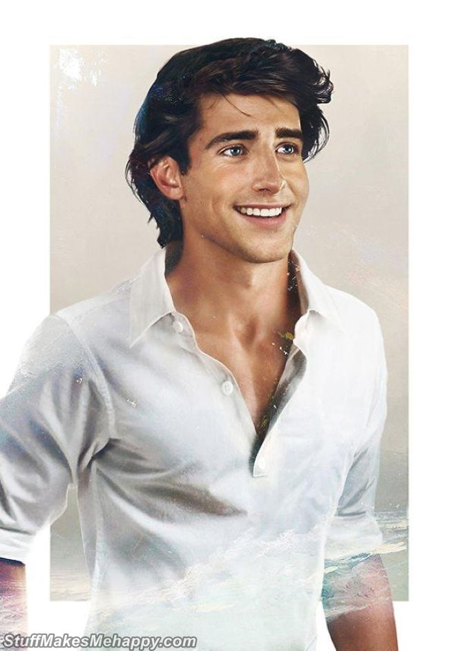 Prince Eric of the Little Mermaid