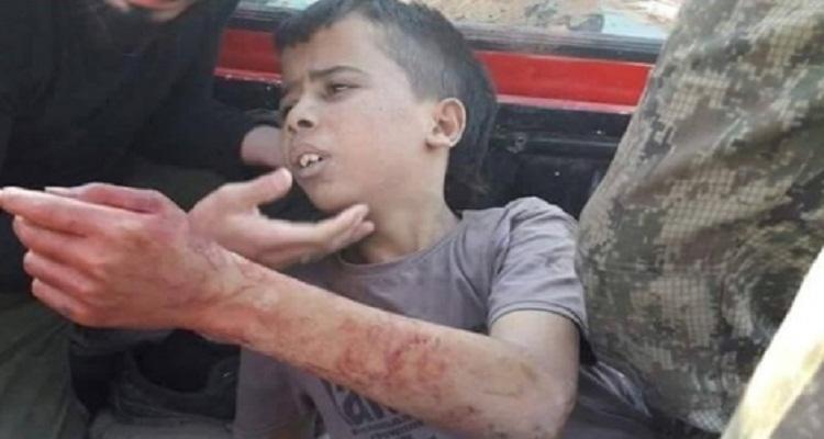 فيديو صادم .. امنية الطفل الفلسطيني عبد الله عيسى الاخيرة قبل ذبحه في سوريا