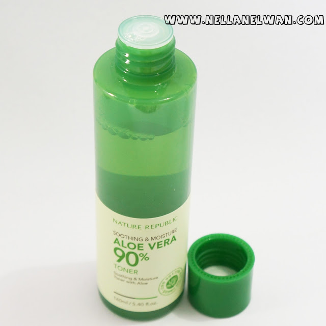 nature republic soothing and moisture aloe vera toner review nellanelwan