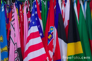 Image: Pictures of Flags from around the world (c) FreeFoto.com. Photographer: Ian Britton