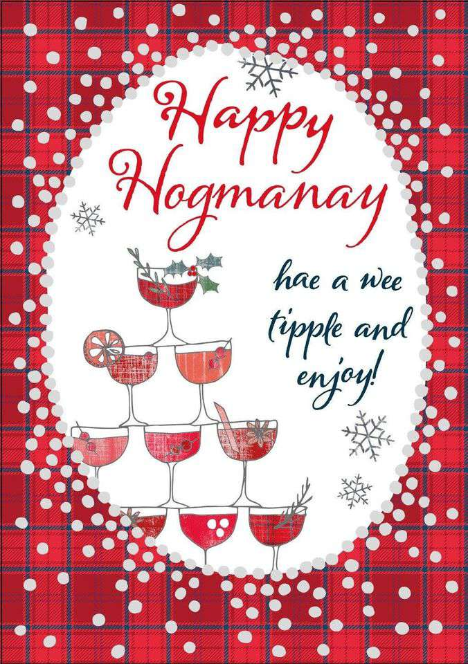 Hogmanay Wishes For Facebook