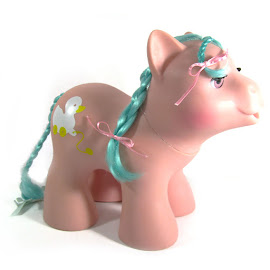 MLP Pink Dreams Year Five Soft Sleepy Newborns G1 Pony