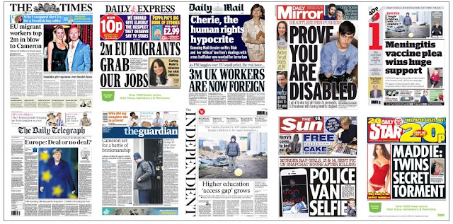 front pages 18-02-16