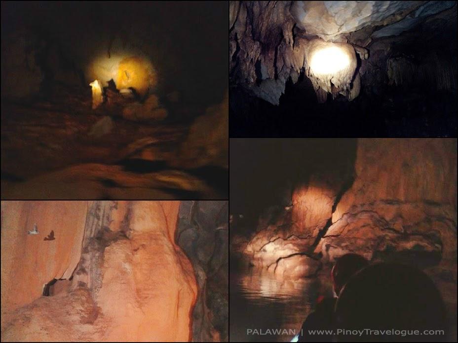 Rock formation inside Underground River