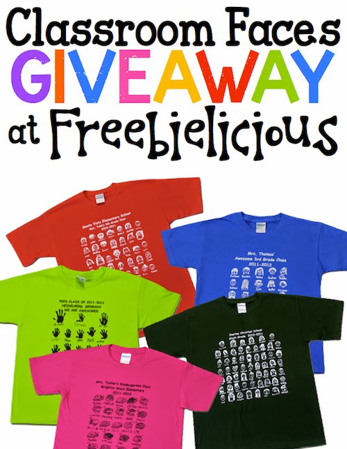 Classroom Faces Custom T-Shirt Mega Giveaway