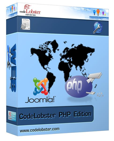CodeLobster PHP Edition Pro 5.12 poster box cover
