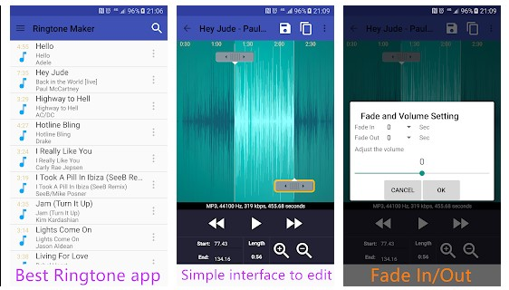Aplikasi Cara Buat Nada Dering di Hape Android - Aplikasi Cara Buat Nada Dering Ringtone Maker