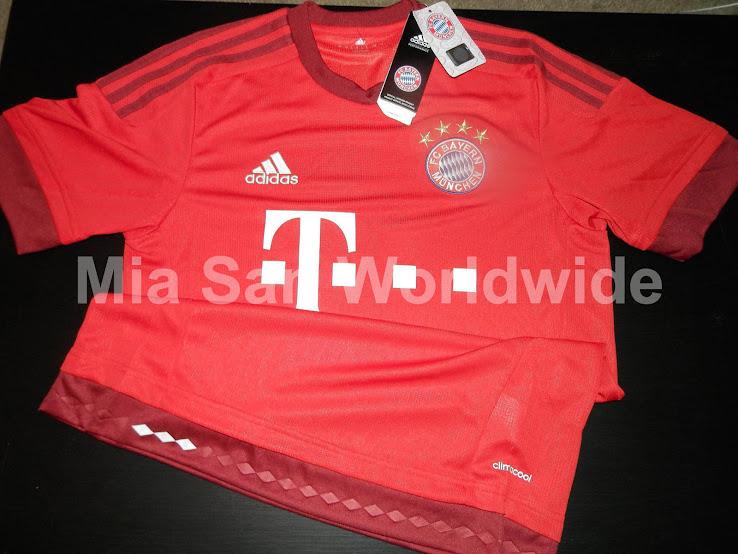 Primera imágenes de las camisetas del Bayern de Munich 2015 16 - La ... b713e1e1140e8